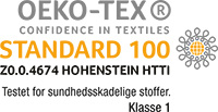 Flora Danica er OEKO-TEX 100 certificeret